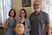 T&H Receives UVM Family Business Award