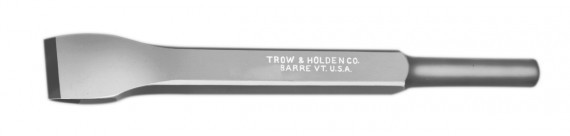A carbide roughing chisel that can be used with a pneumatic hammer