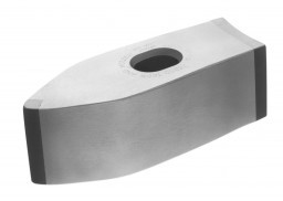 An ultimate carbide tipped mash hammer used for stone shaping