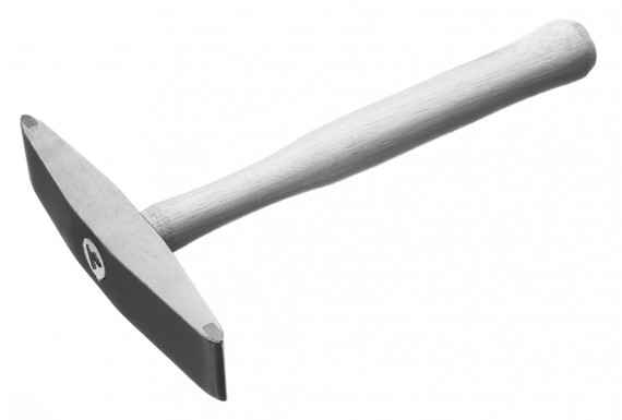 A carbide mill pick hammer used for stone shaping
