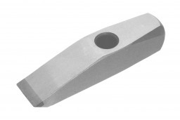 A thin stone veneer hammer used for shaping thin stone veneer