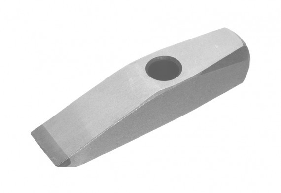 A thin stone veneer hammer for shaping thin stone veneer